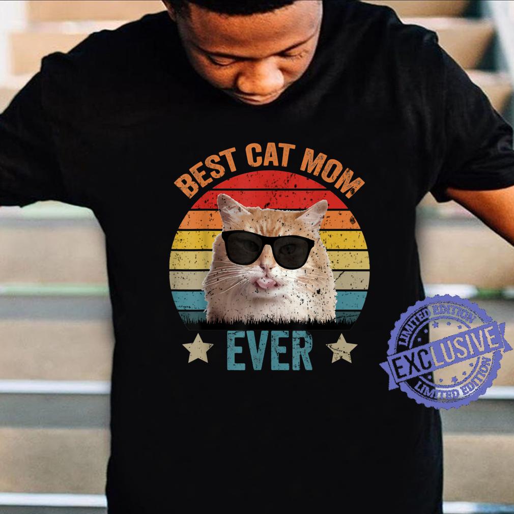 Best Mom Cat Ever, Classic Mom Cat, Vintage Cat Shirt