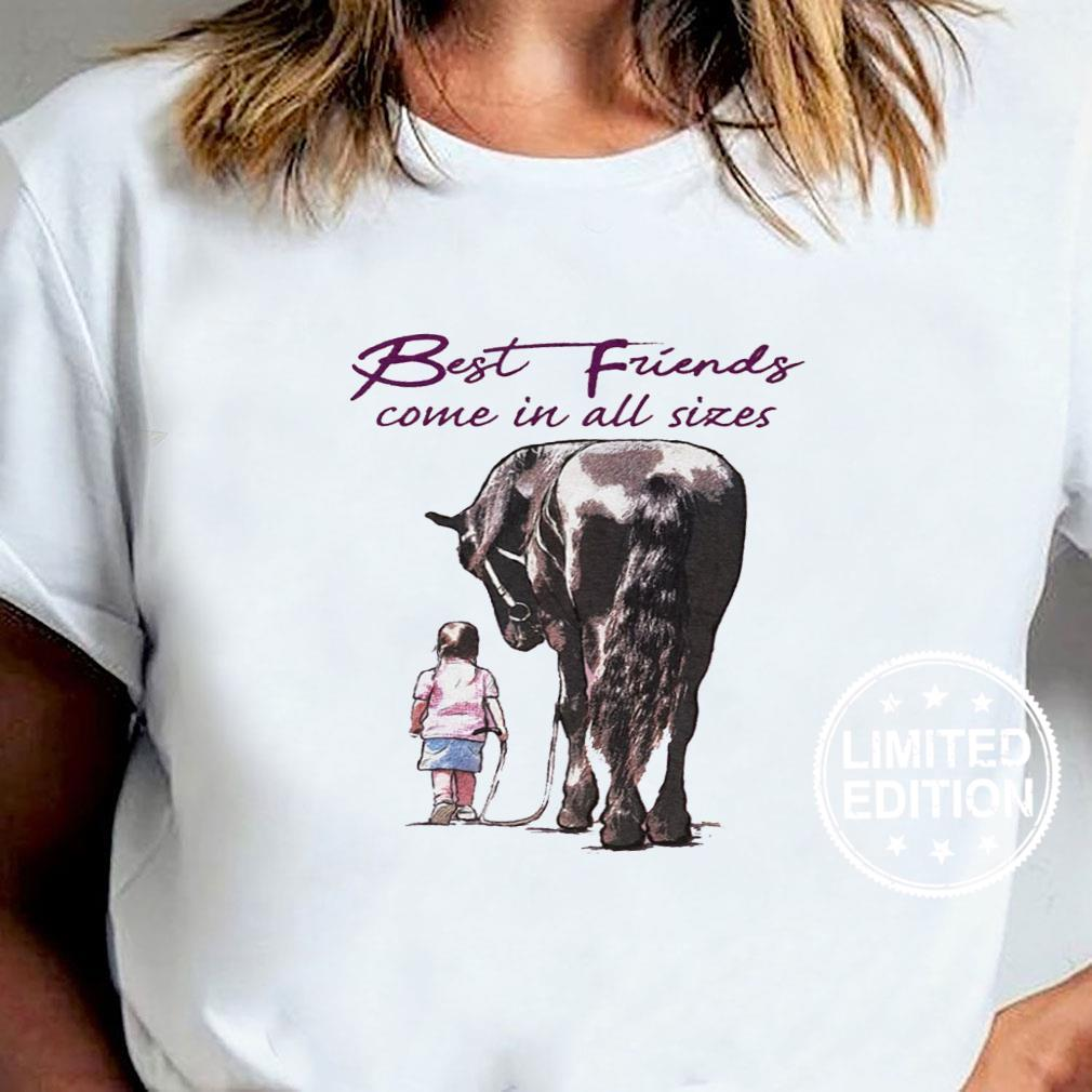 Best friends come in all sizes shirt ladies tee