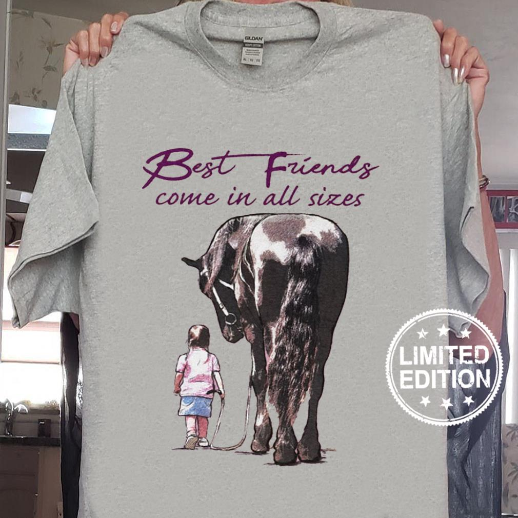 Best friends come in all sizes shirt sweater