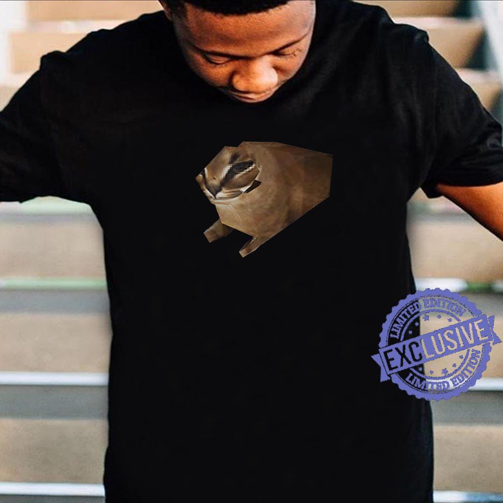 Big Floppa Meme Low Poly Floppa Meme Cat Shirt