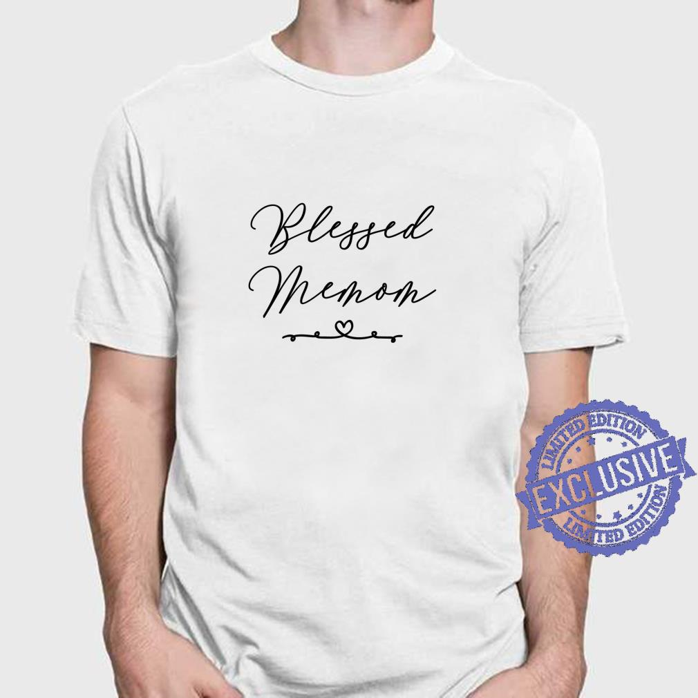 Blessed Memom Shirt