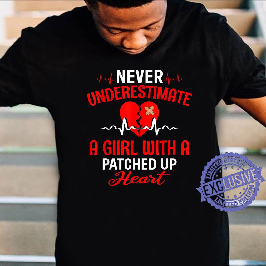Bypass Open Heart Surgery Recovery Survivor Girls Shirt