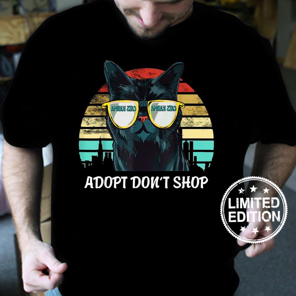 Cats Karma Shirt wir retten Mallorcas Straßenkatzen Shirt