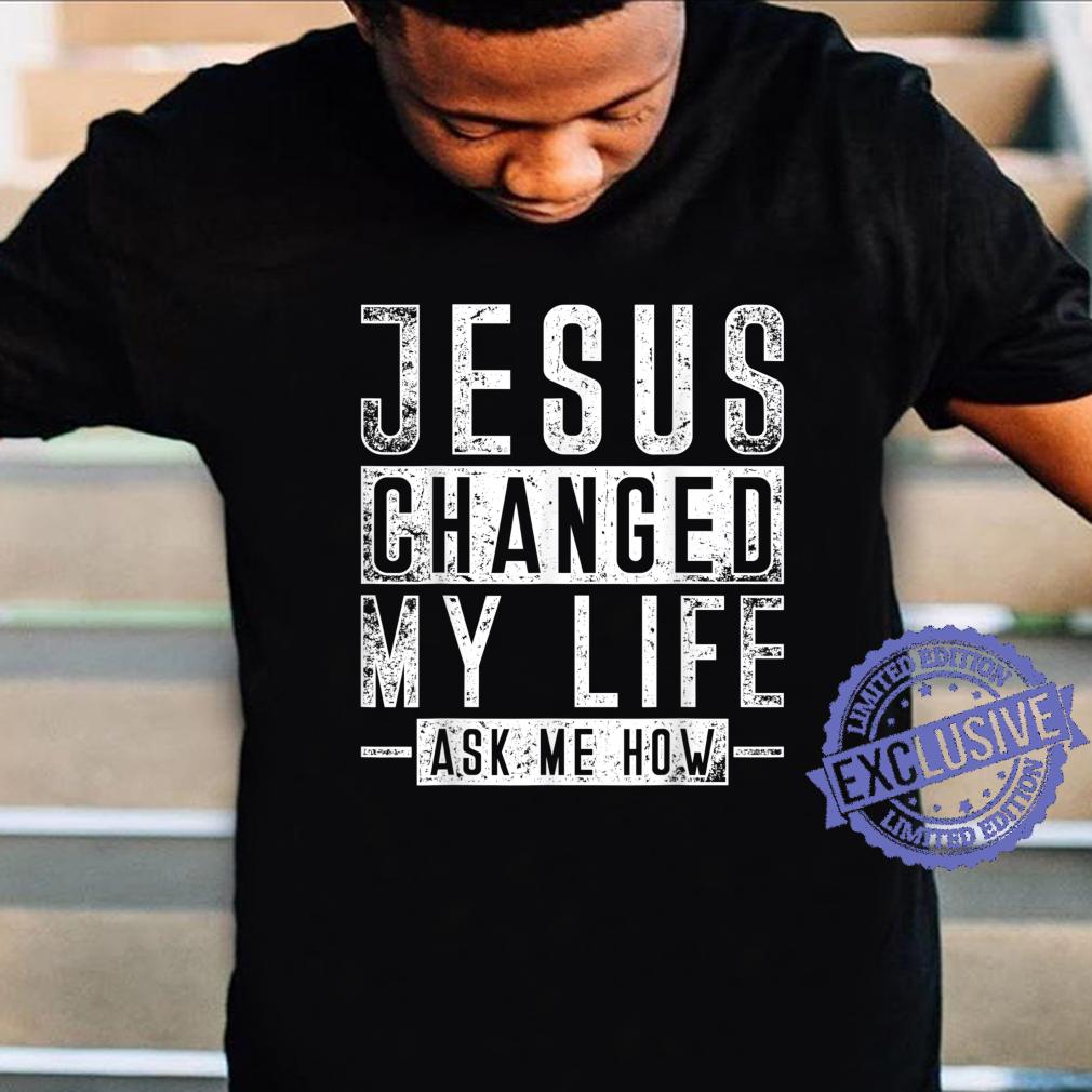 Christian Faith Bible Prayer God Savior Devotee Jesus Shirt