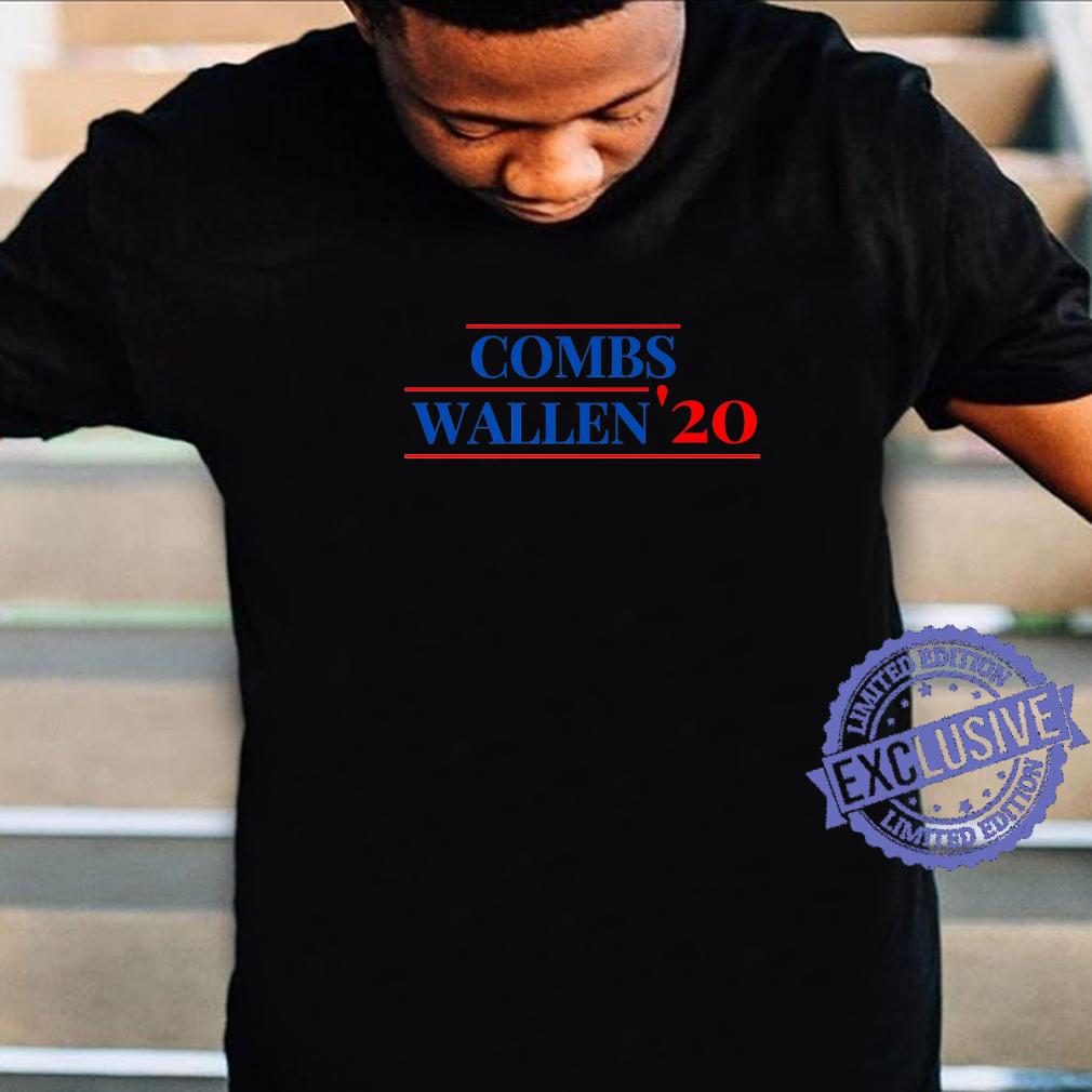 Combs Wallen 2020 Country Music Political Parody Shirt