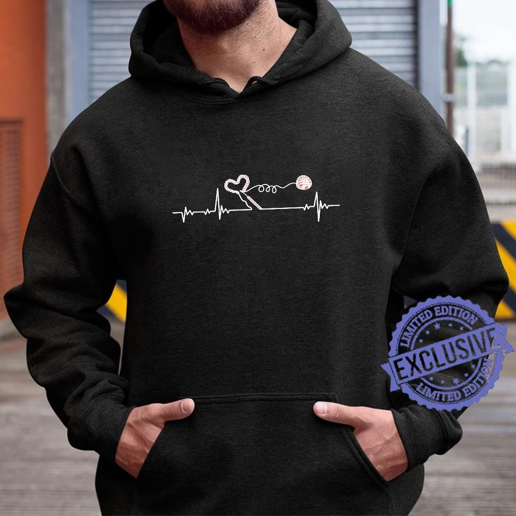 Crochet Crocheter Heartbeat Pulseline Crocheting Shirt hoodie