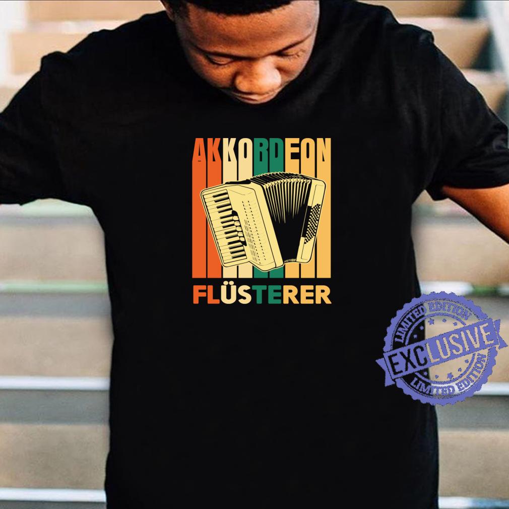 Ein Tag ohne Akkordeon Musiker Band Komponist Retro Shirt