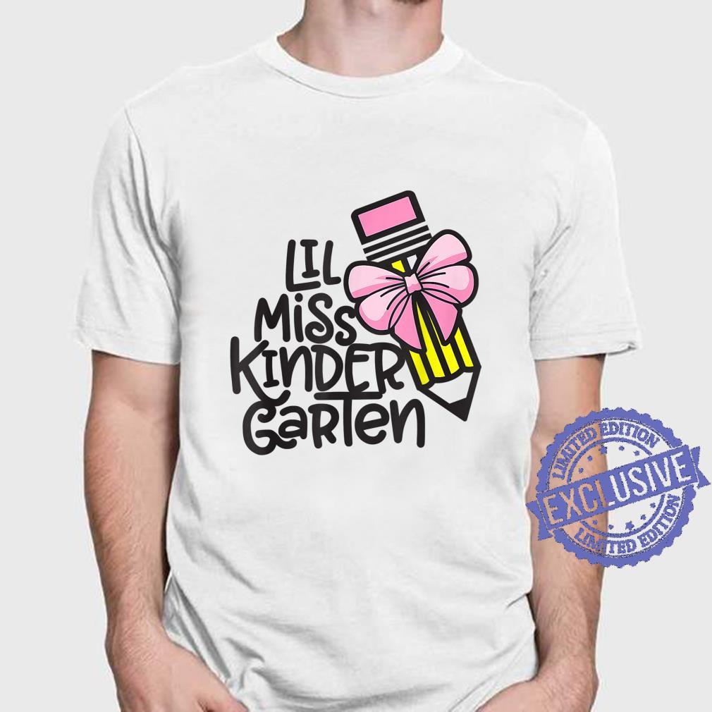 Little miss kindergarten Shirt