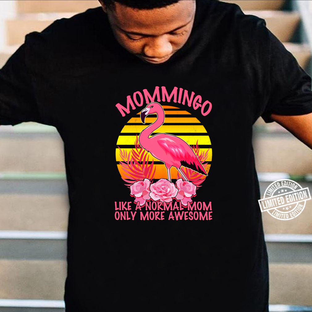 Mommingo Mommy Flamingo Family Shirt