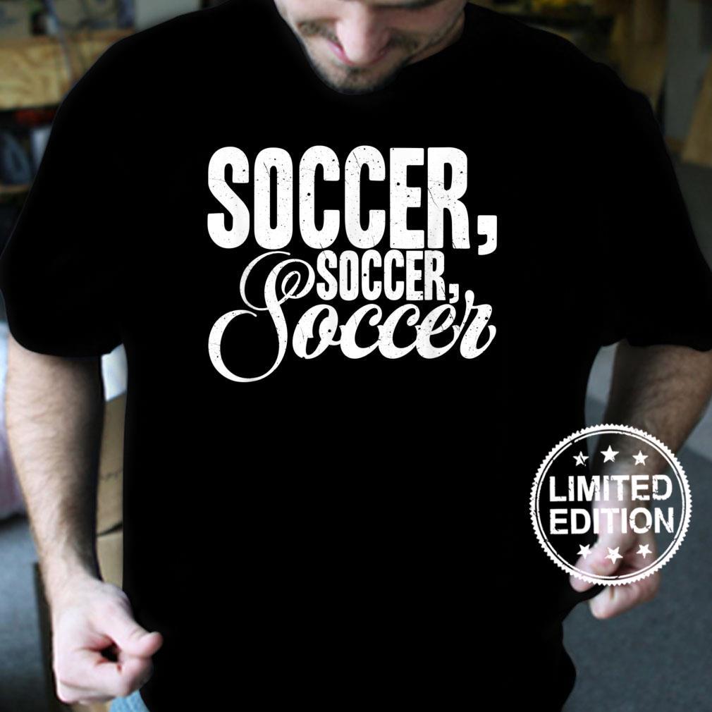 Retro Soccer Quote for Soccer Team Shirt
