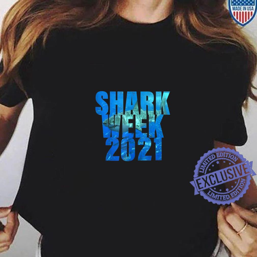 Shark 2021 WeekWomens Passion for Sharks Shirt ladies tee