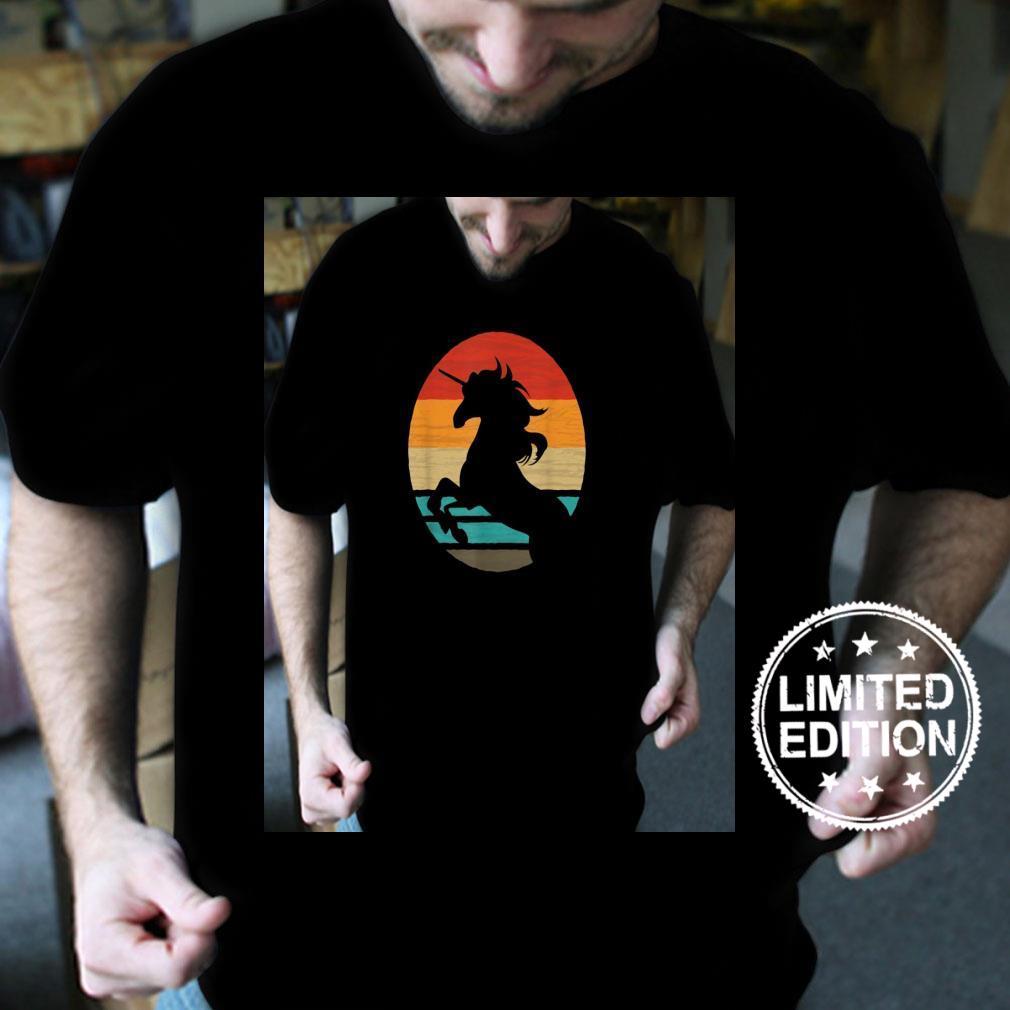 Unicorn Retro Style Vintage Shirt