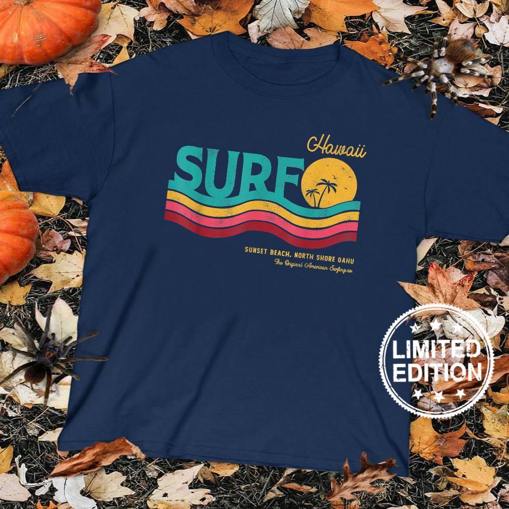 Vintage Retro Style SurfRider Surf Beach North Shore Hawaii Shirt sweater