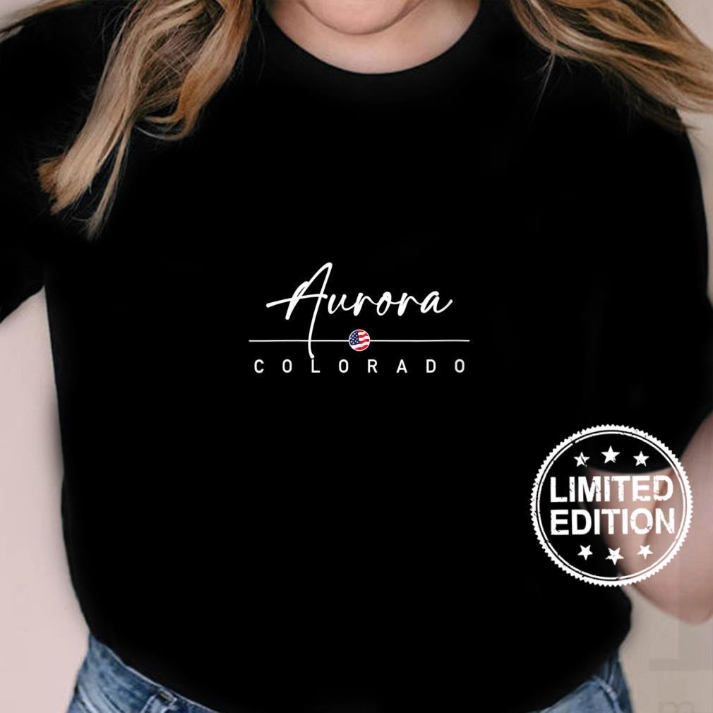 Womens Aurora, Colorado Shirt ladies tee