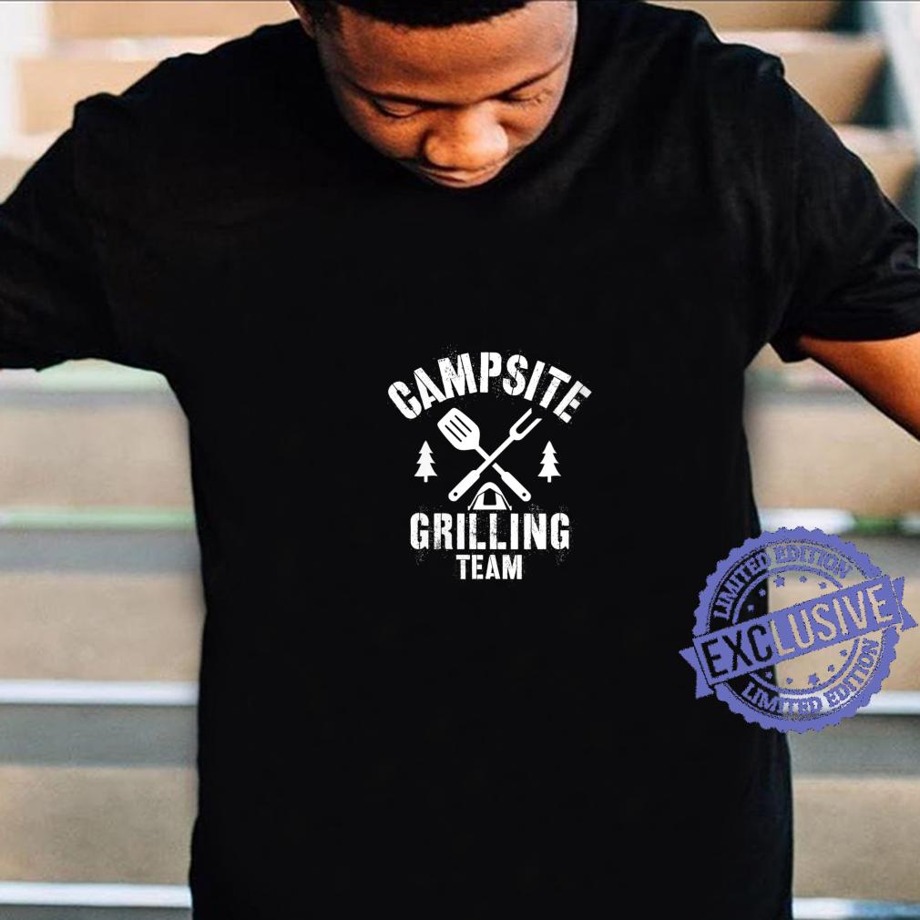 Womens CAMPSITE GRILLING TEAM Shirt