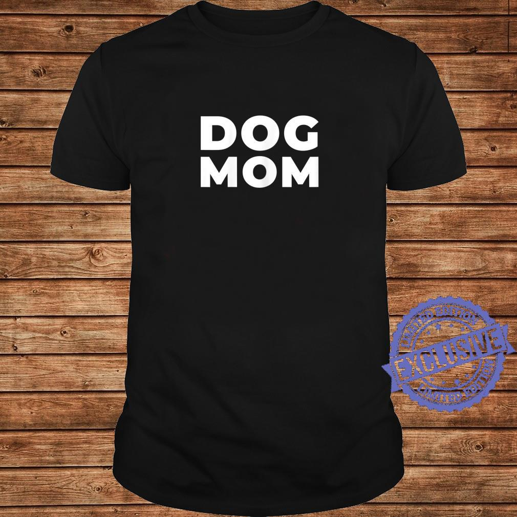 Womens Dog Mom Shirt long sleeved