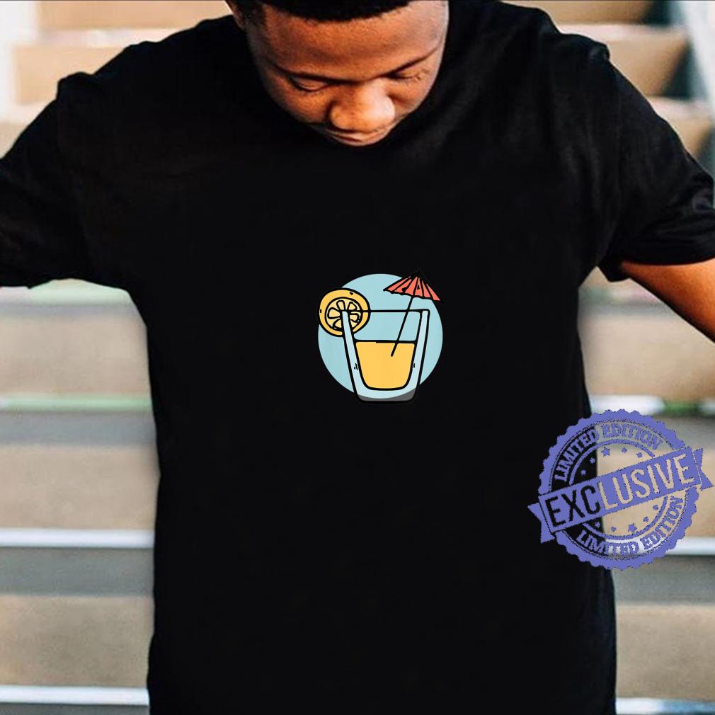 Womens Fruity Drink Summer Design Shirt