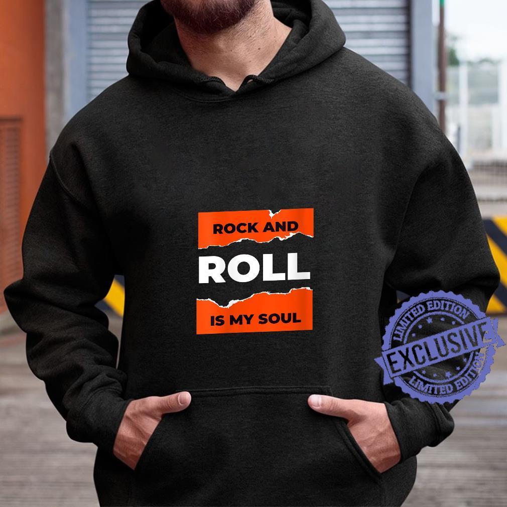 Womens I Love Rock & Roll, Cool Rock & Roll Shirt, Rock N' Roll Shirt hoodie