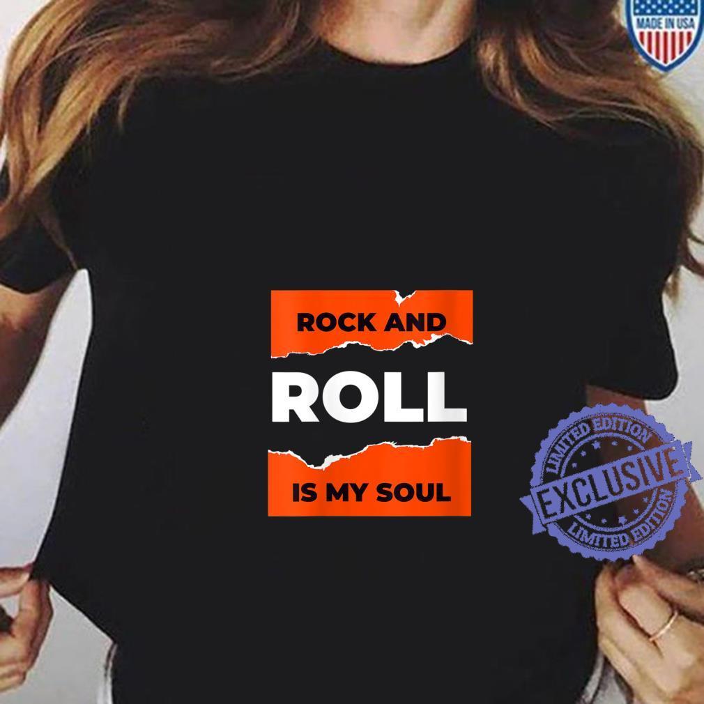 Womens I Love Rock & Roll, Cool Rock & Roll Shirt, Rock N' Roll Shirt ladies tee
