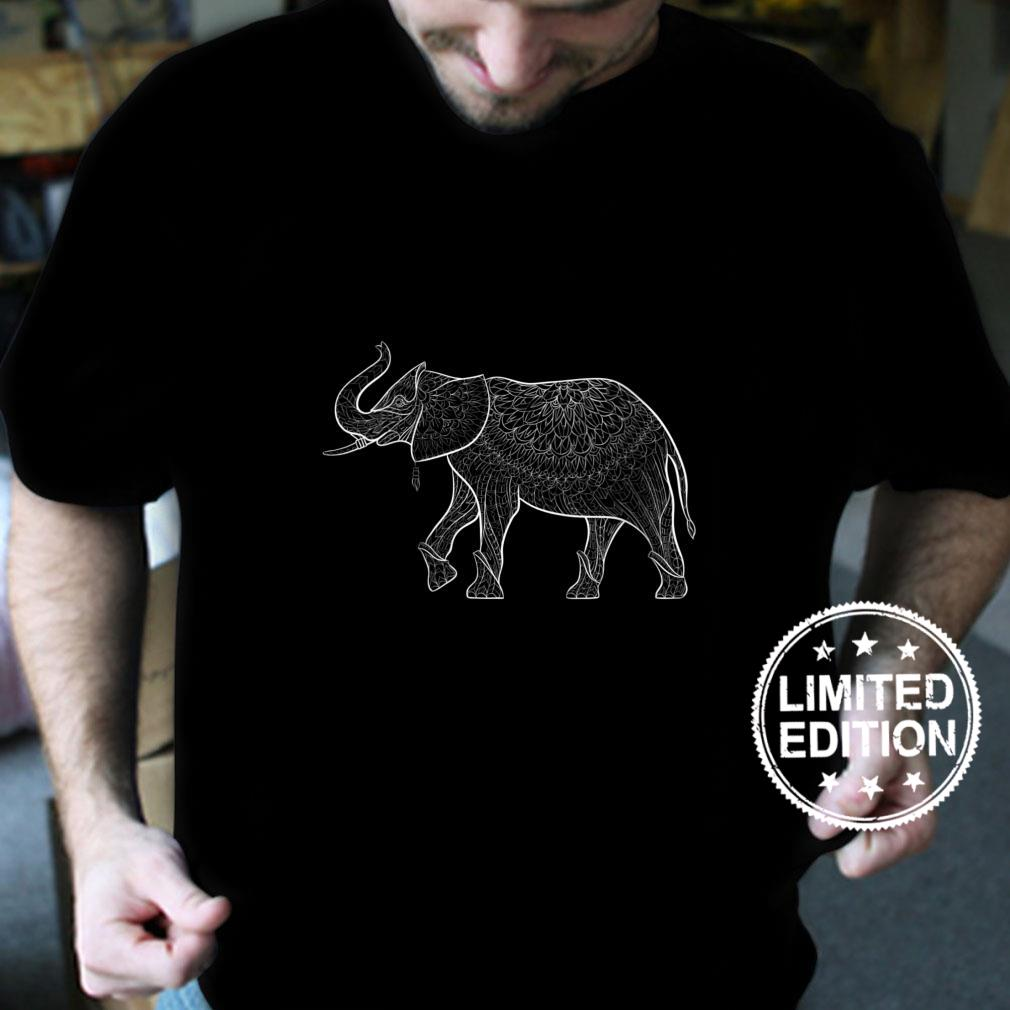 Womens Maverick Infanta Animal Elephant CUAI0220 Shirt