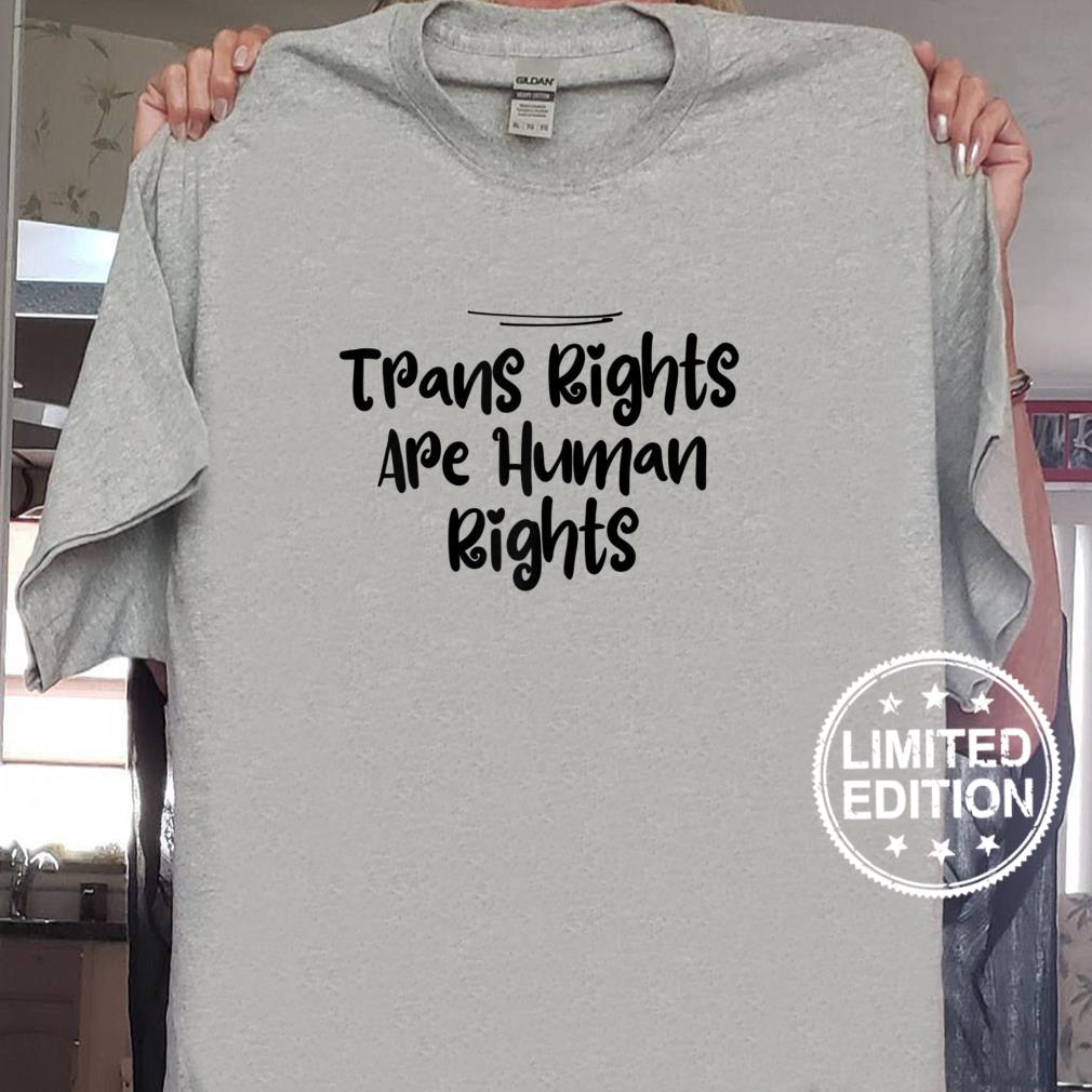 Womens Mom Trans Rights Are Human Rights Shirt sweater