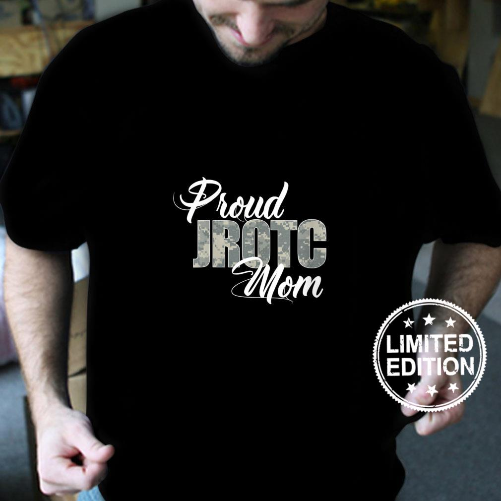 Womens Proud JROTC Mom Shirt for Proud Mother of Junior ROTC Cadets Shirt
