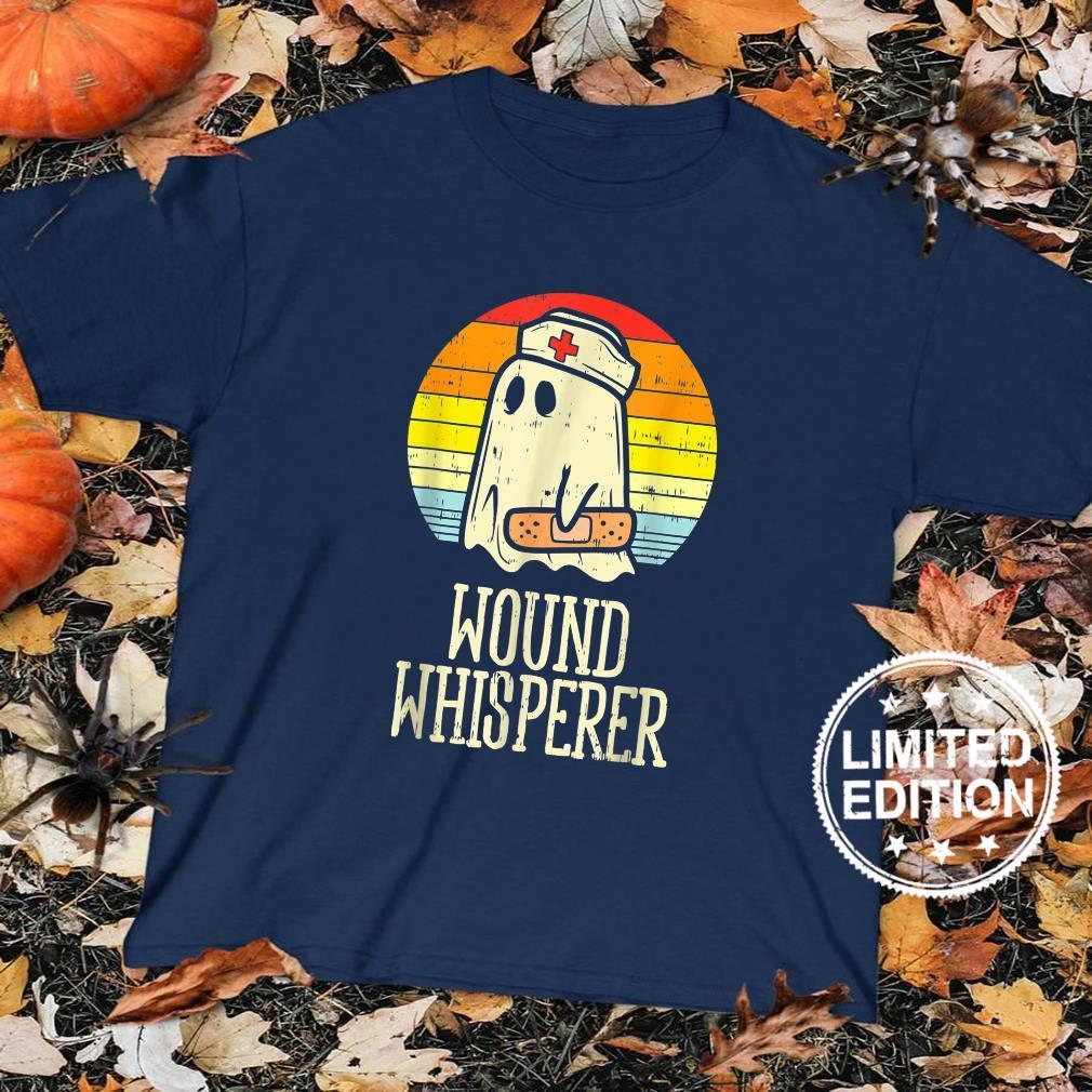 Wound Whisperer Ghost Nurse Boo Halloween 2021 Nursing Rn Shirt sweater