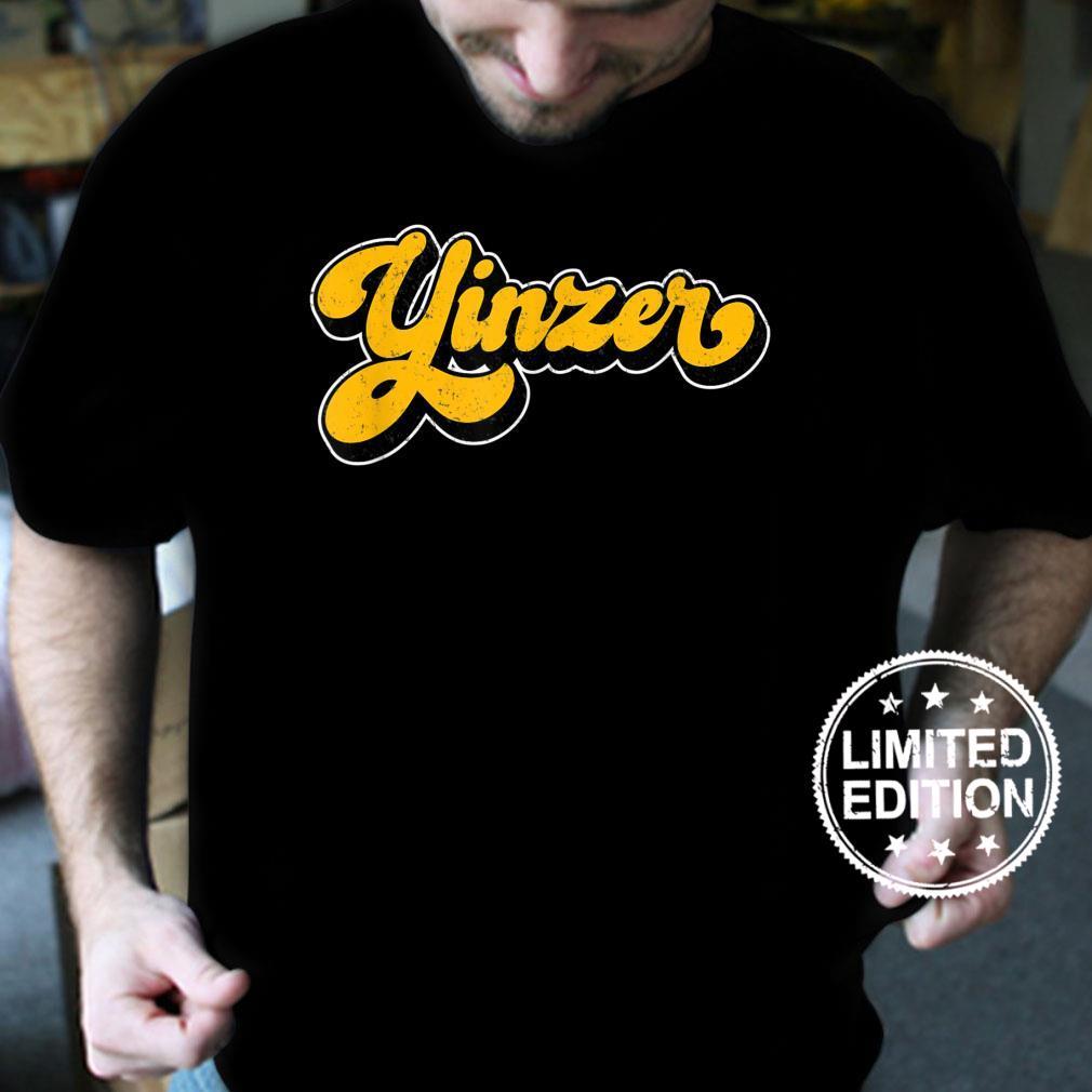 Yinzer Pittsburgh 412 Area Code Love Pgh Burgh Yinz Shirt