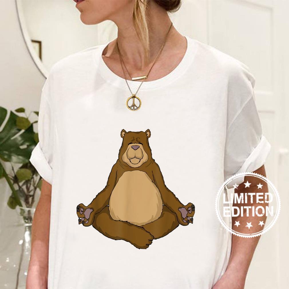 Yoga Meditation Bear Shirt
