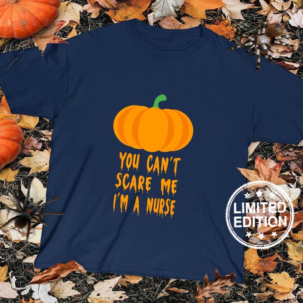 You Can't Scare Me I'm A Nurse Cute Halloween Fun Shirt sweater