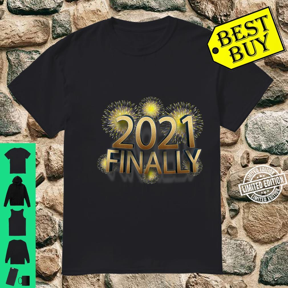 20202021 Finally New Year's Eve Party Wear Supplies Shirt