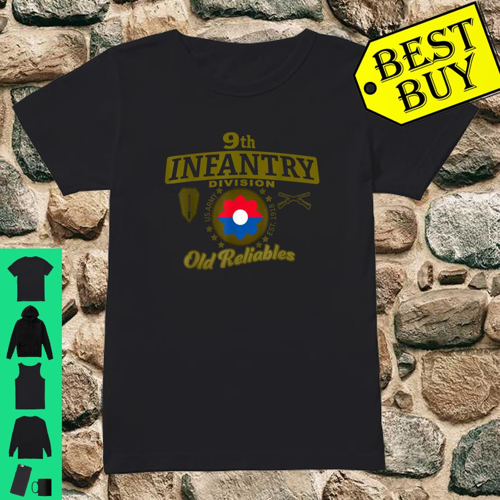9th Infantry Division Division Old Reliables Shirt ladies tee