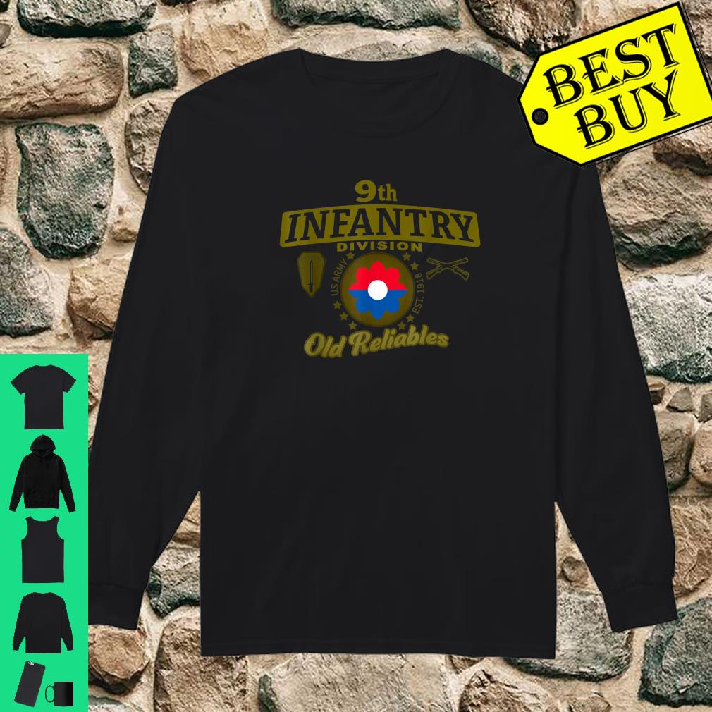 9th Infantry Division Division Old Reliables Shirt long sleeved