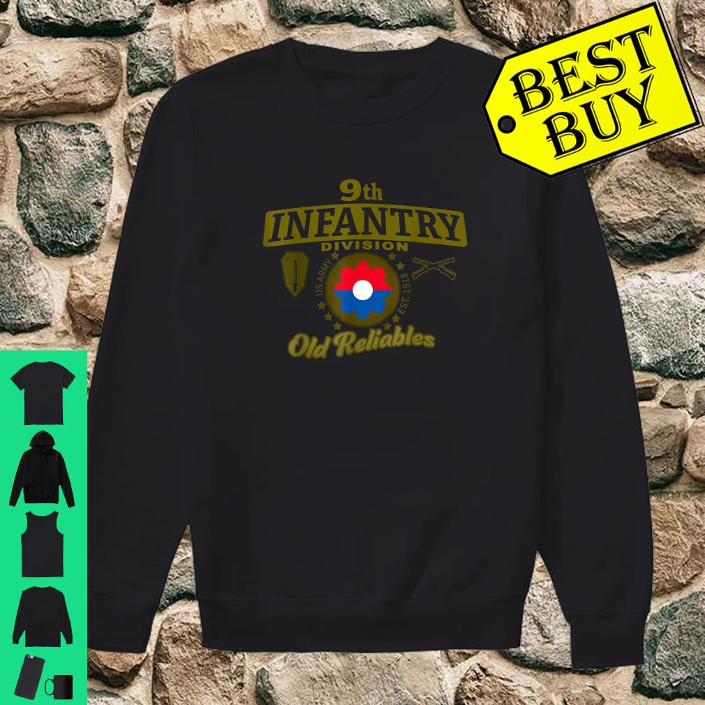 9th Infantry Division Division Old Reliables Shirt sweater