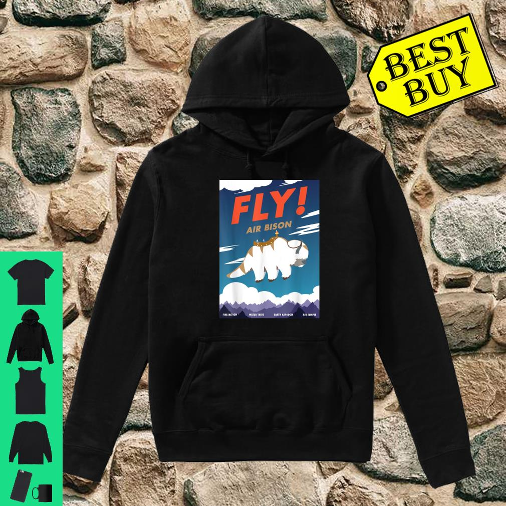 Bison Airline Poster Fly Air Bison Shirt hoodie