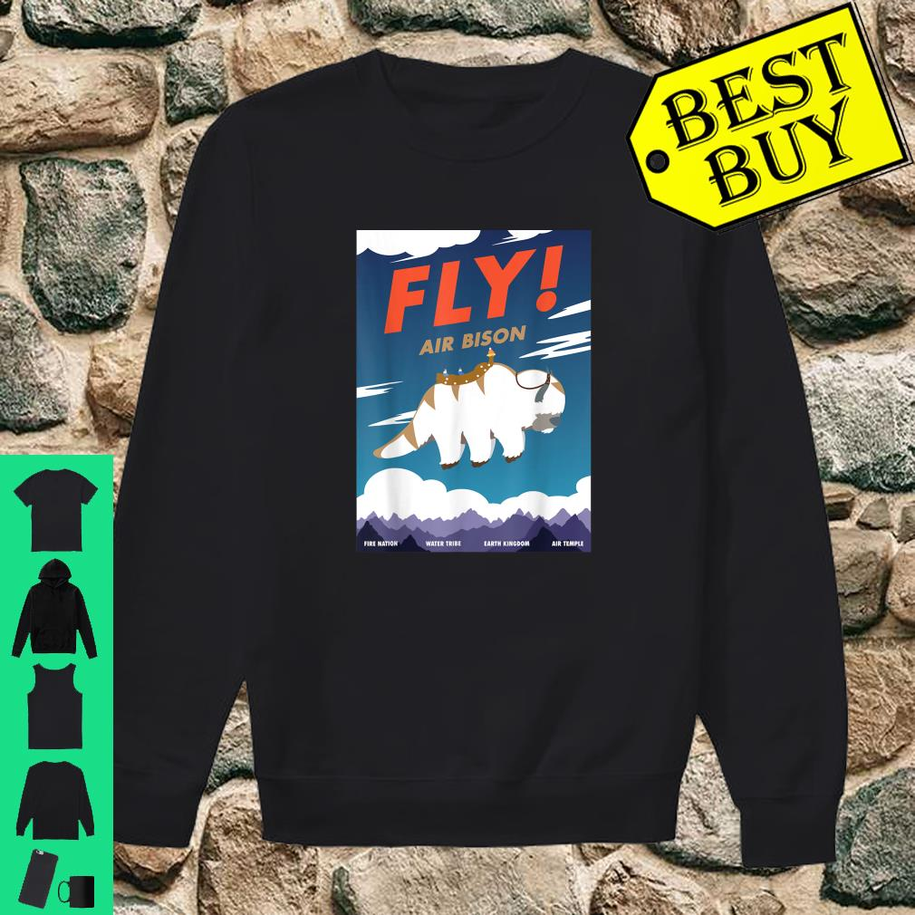 Bison Airline Poster Fly Air Bison Shirt sweater