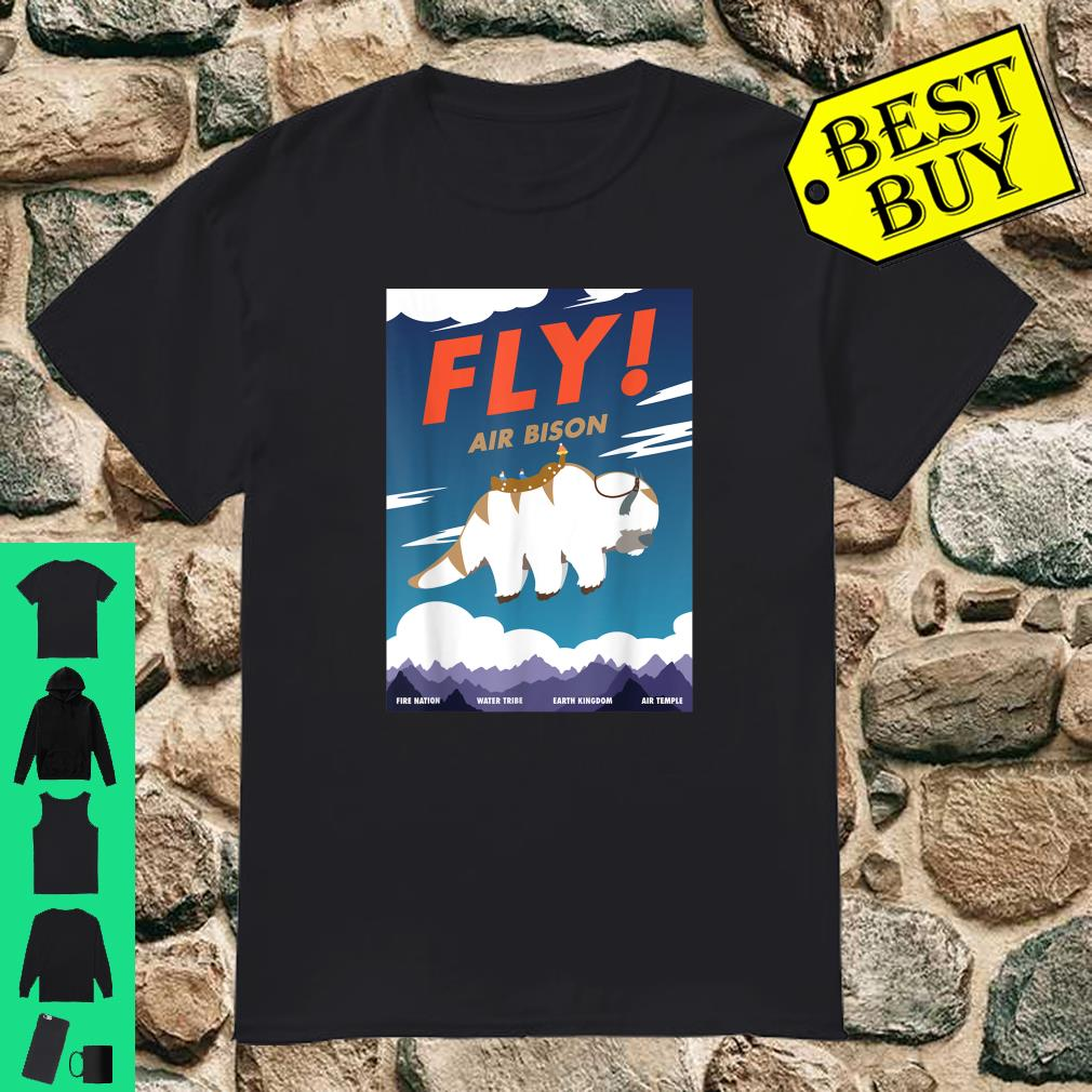 Bison Airline Poster Fly Air Bison Shirt