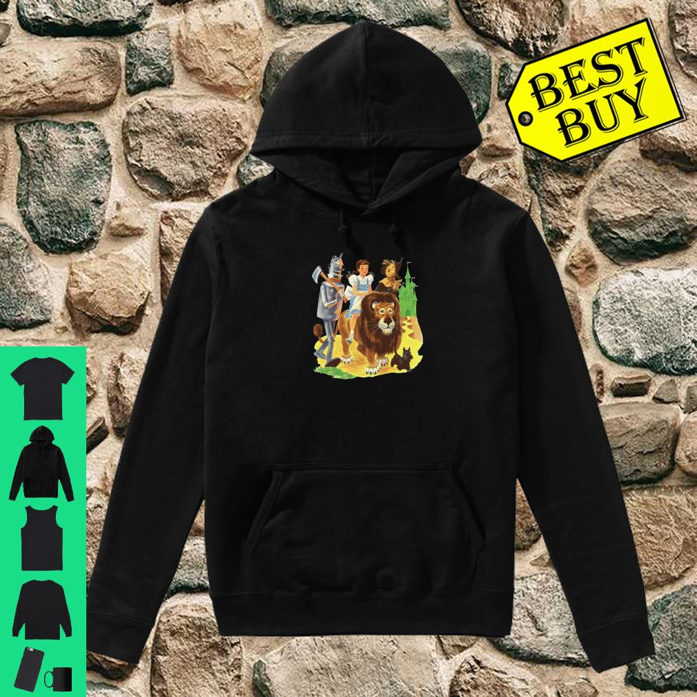 Brick Road Emerald City of Oz Tin Man Lion Scarecrow Dorothy Pullover Shirt hoodie