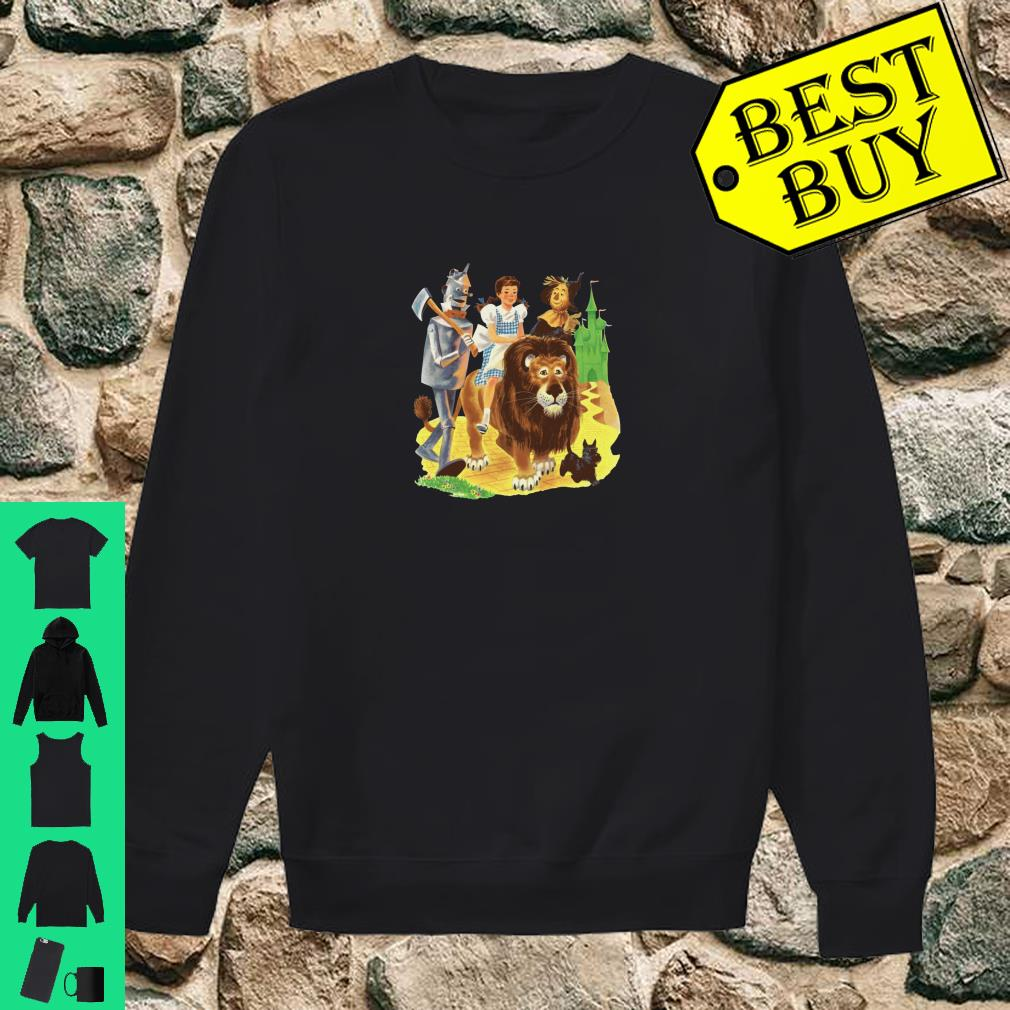 Brick Road Emerald City of Oz Tin Man Lion Scarecrow Dorothy Pullover Shirt sweater