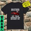 Brother of the Birthday Boy Red Tractor Matching Party Shirt