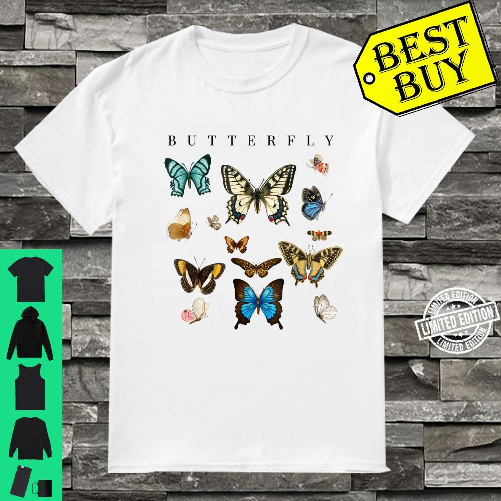 Butterfly Butterflies Botanical Boho Monarch Summer Insect Shirt