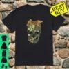Camouflage Skull with Leopard Bandana Bow Halloween Shirt