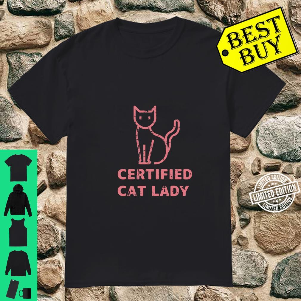 Crazy Cat Lady Animal I Love Cats Pet Owner Shirt