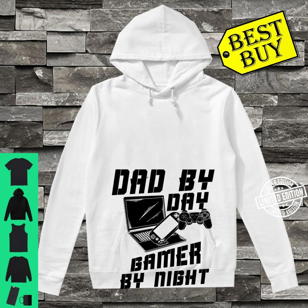 Dad By Day Gamer By Night Game Father's Day Shirt hoodie