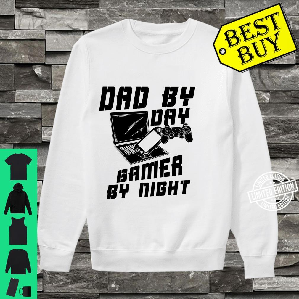 Dad By Day Gamer By Night Game Father's Day Shirt sweater