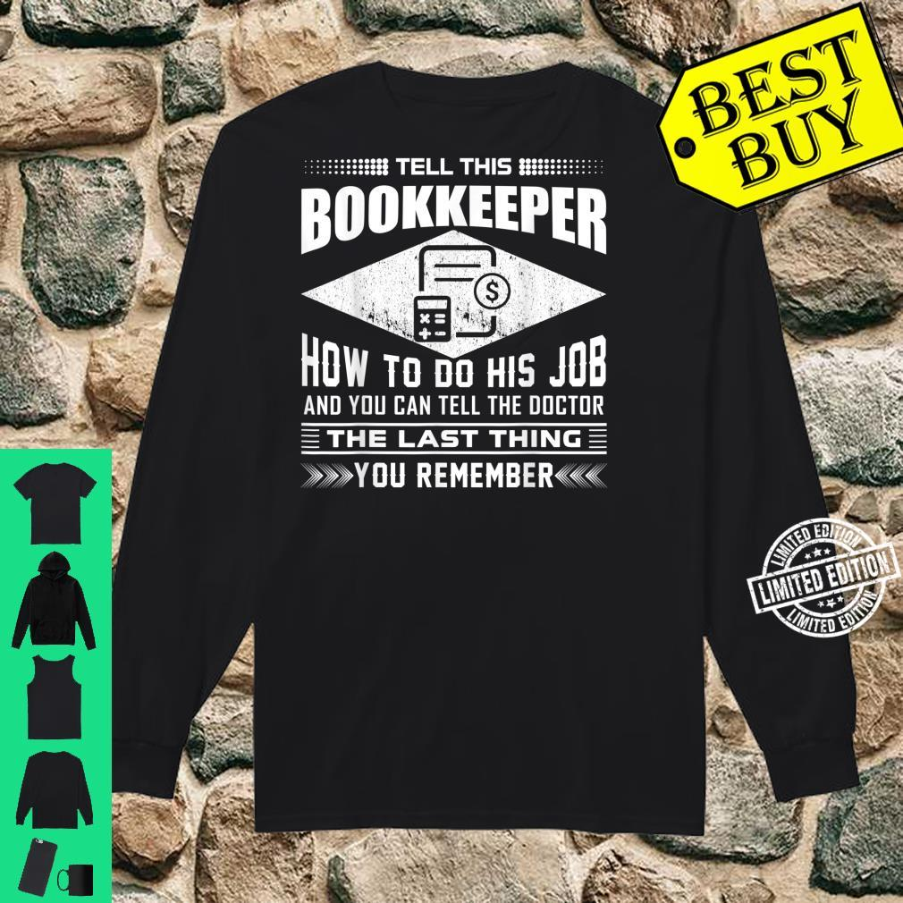 Funny Tell This Butcher How To Do His Job Apparel Shirt long sleeved