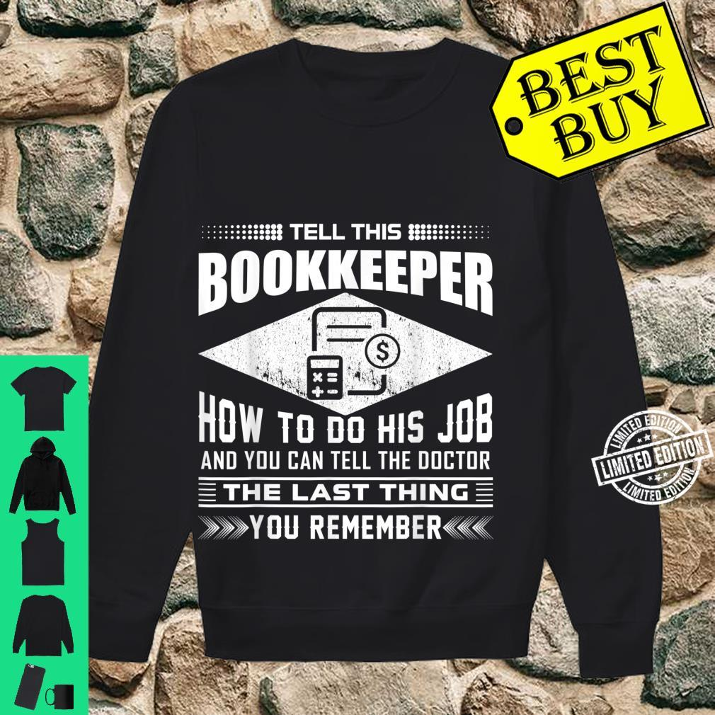 Funny Tell This Butcher How To Do His Job Apparel Shirt sweater