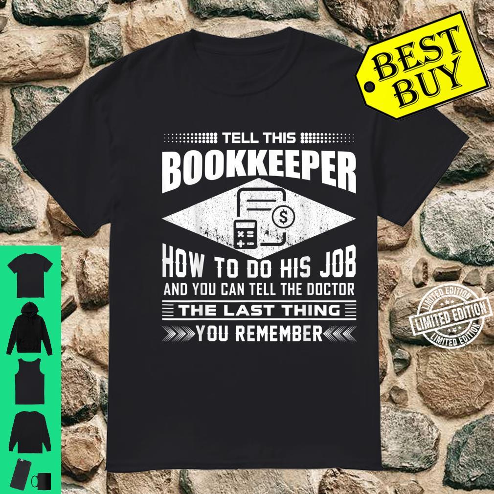 Funny Tell This Butcher How To Do His Job Apparel Shirt
