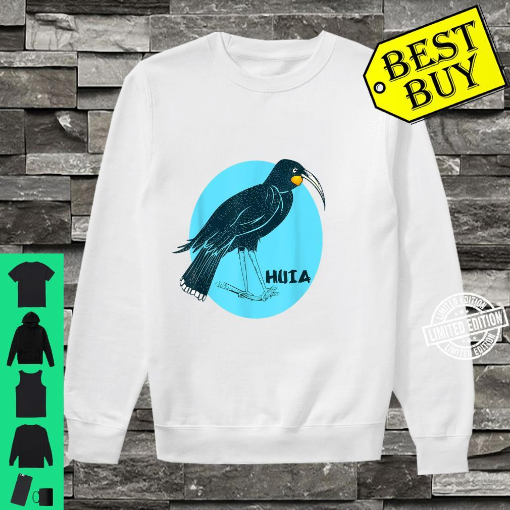 Huia New Zealand Bird Shirt sweater