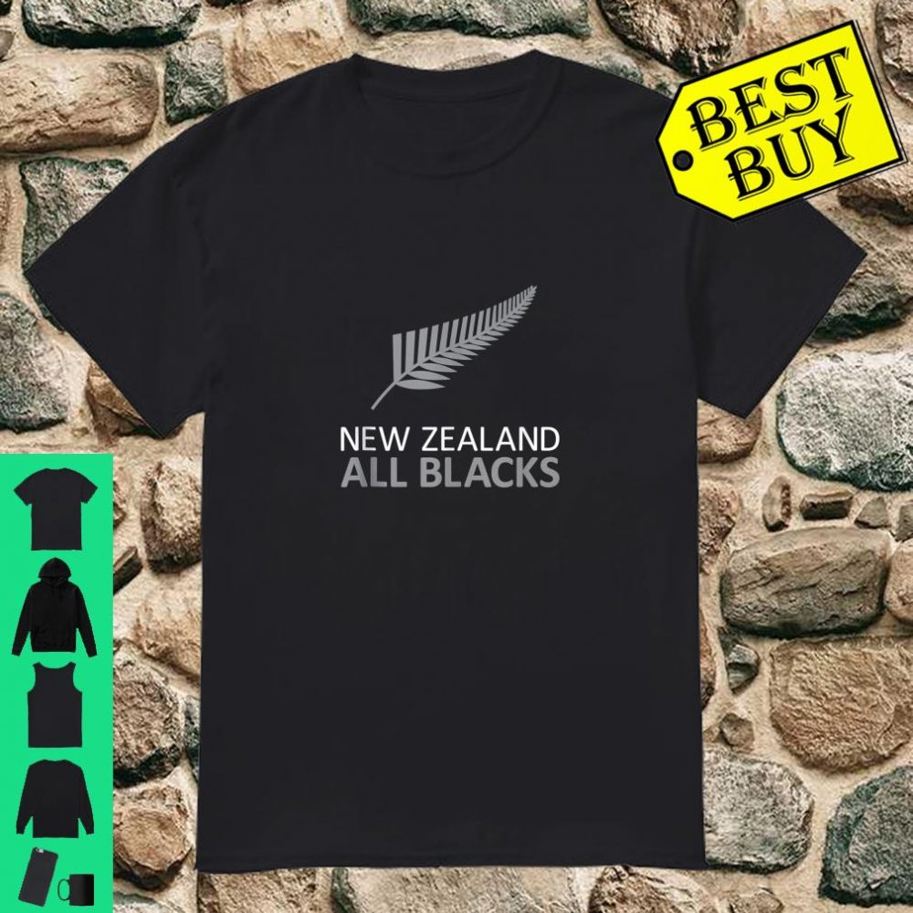 New Zealand Fern AB Rugby Fan Stylish shirt